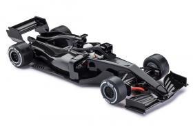 CAR07-black Policar  F1 monoposto